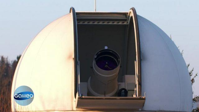 Weltraum-Laser: Die Technik der Zukunft