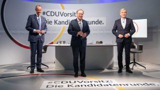 CDU-Parteitag mit Friedrich Merz, Armin Laschet und Norbert Röttgen