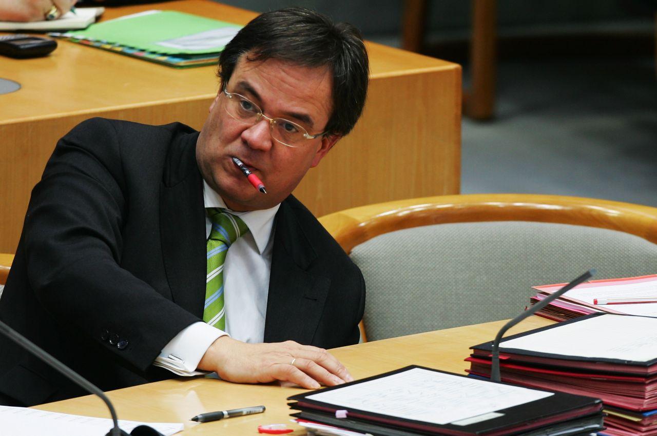 Armin Laschet 2007 im Landtag von Düsseldorf als Integrationsminister