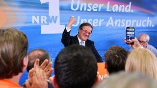 Armin Laschet bei Landtagswahl 2017
