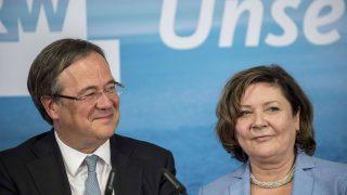 Laschet mit seiner Ehefrau Susanne