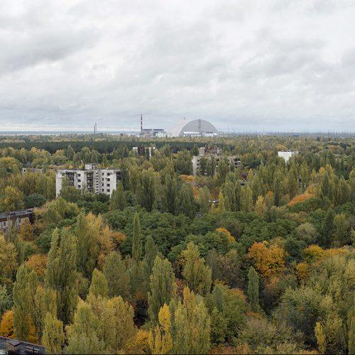 Atomreaktor von Tschernobyl dient heute als Forschungsstätte.