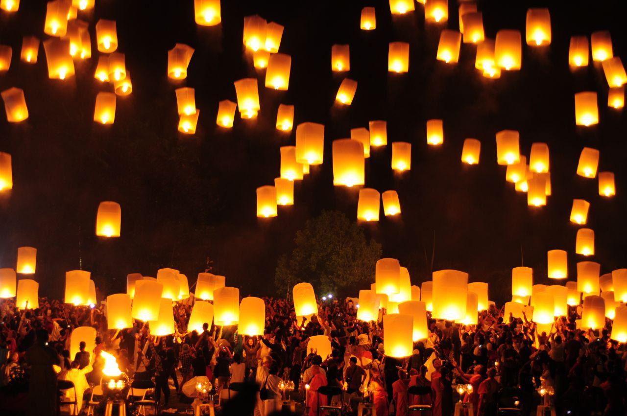 Vesak Fest Buddhismus