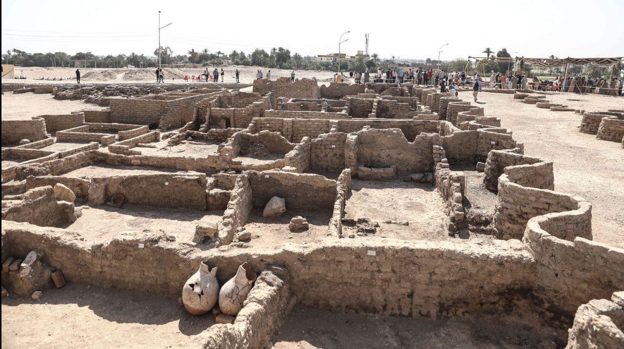 """Die """"verlorene Goldene Stadt"""" - sensationeller Fund in Ägypten"""