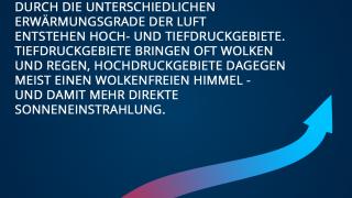 Einflussfaktoren auf das Wetter in Deutschland - Hoch- und Tiefdruckgebiete