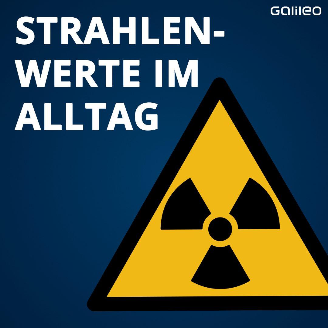 Strahlung im Alltag
