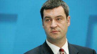 Markus Söder bei einem Unions-Treffen 2005
