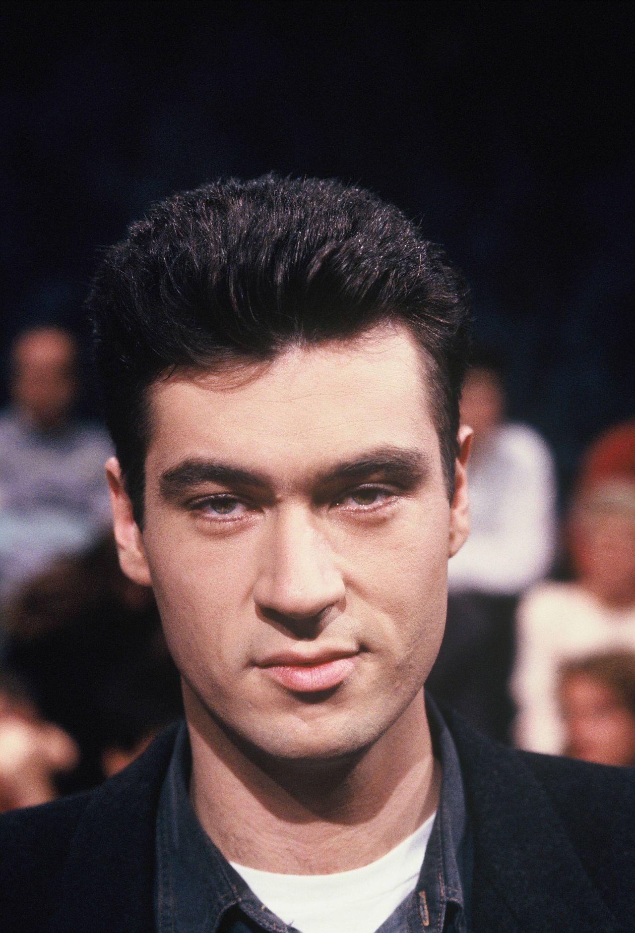 Markus Söder 1992 bei einer TV-Talkshow