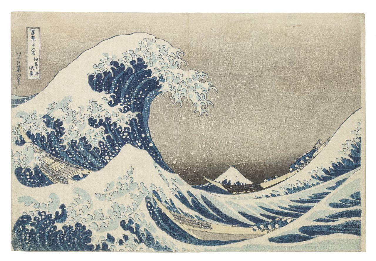 Monsterwelle - Hokusai