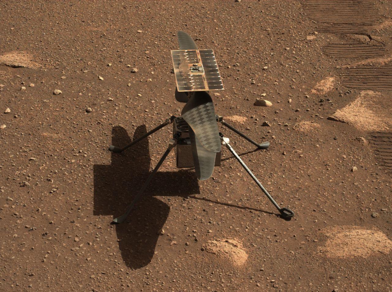 Mars-Hubschrauber Ingenuity auf dem Mars