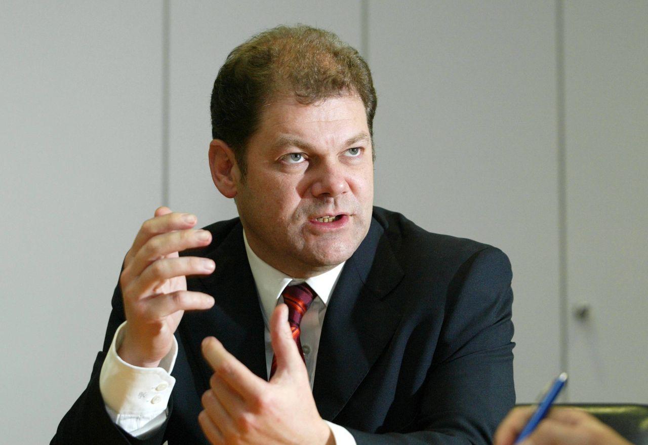 Interview mit SPD-Generalsekretär Olaf Scholz 2002