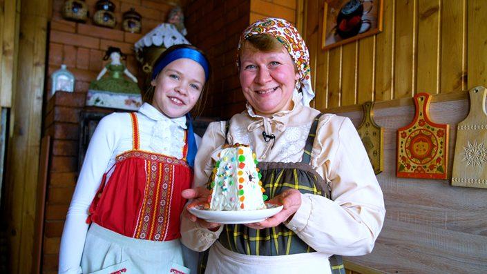 Pashka Kuchen aus Russland