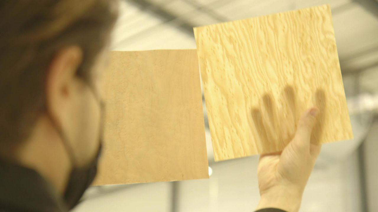 Innovationen aus Holz - digitale Möbel, hölzerne Displays und Wolkenkratzer