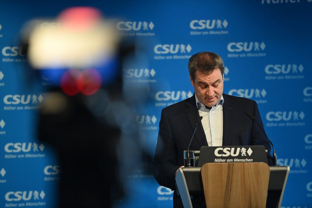 Der bayerische Ministerpräsident und CSU-Chef Markus Söder tritt nicht als Kanzlerkandidat bei der Bundestagswahl 2021 an.