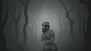 Verletzter im Wald