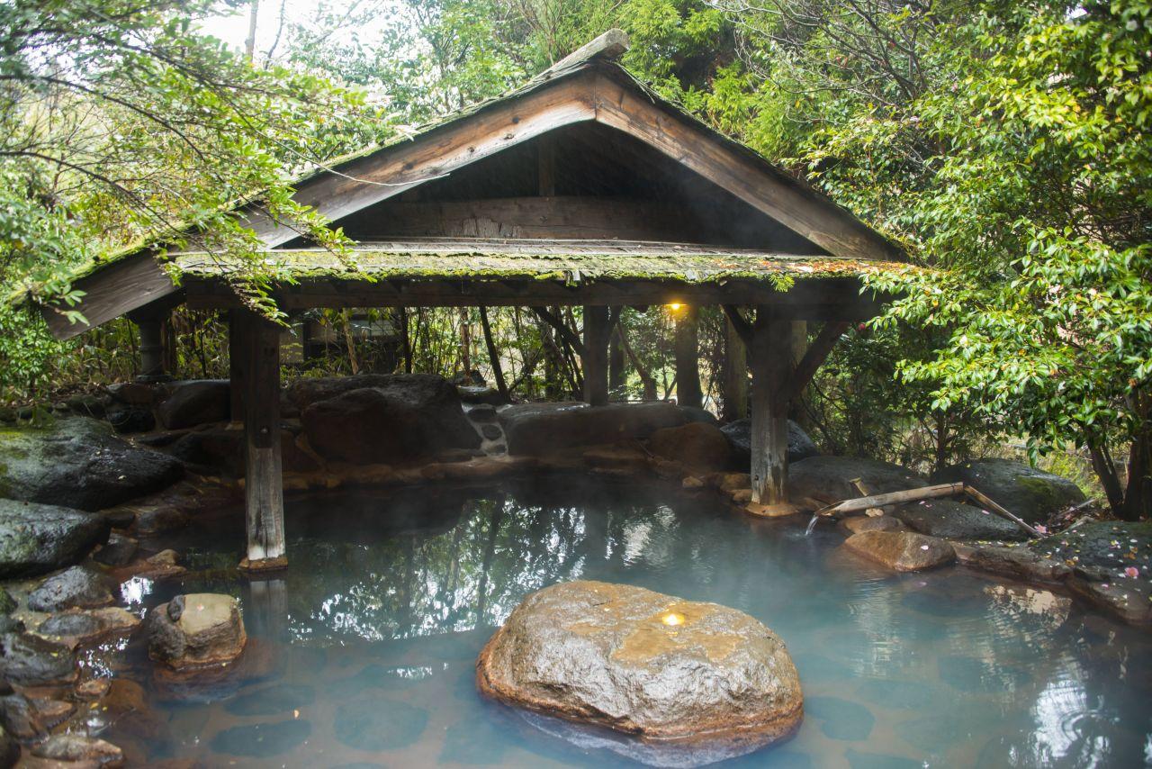 Japanische heiße Quelle, Onsen