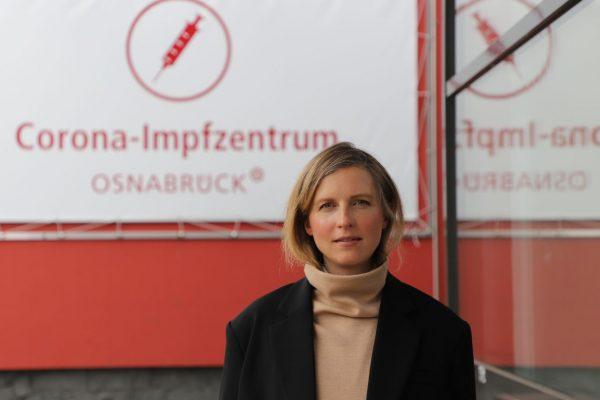 Bianca Debring leitet das Impfzentrum Osnabrück