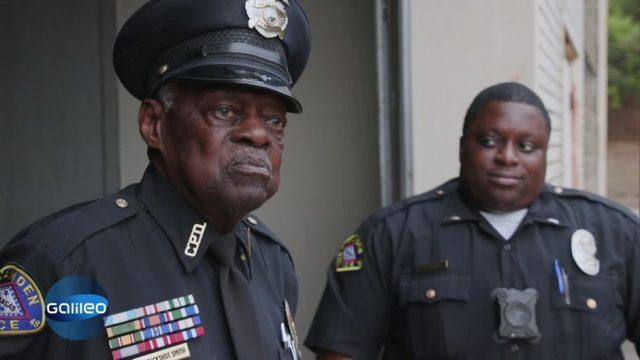 91-Jähriger Polizist - Nach 56 Jahren immer noch im Dienst