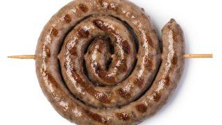Bratwurst-Schnecke