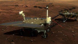 Mars-Rover Zhurong auf dem Mars