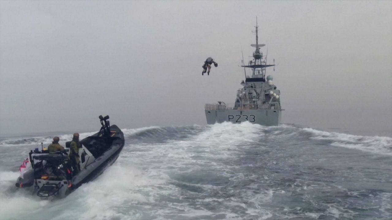 """Clips der Woche: """"Iron Man"""" in der britischen Marine"""