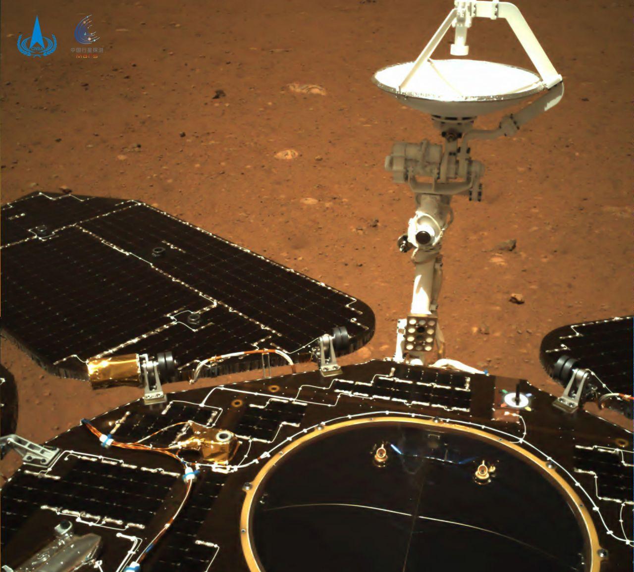Erste Bilder vom Mars-Rover-Zhurong
