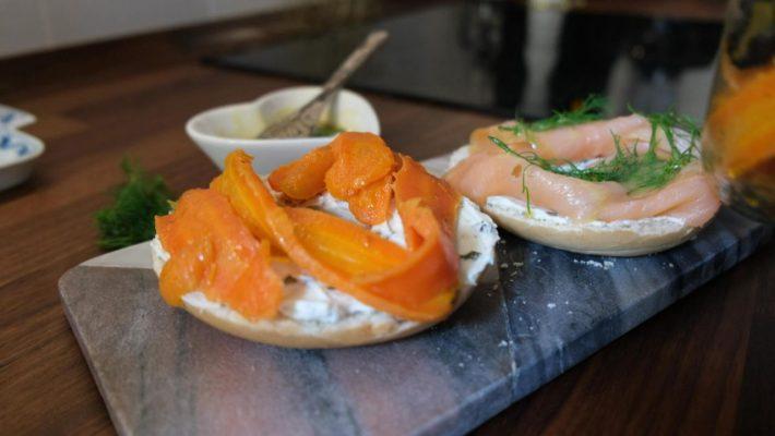 Veganer Karotten-Lachs