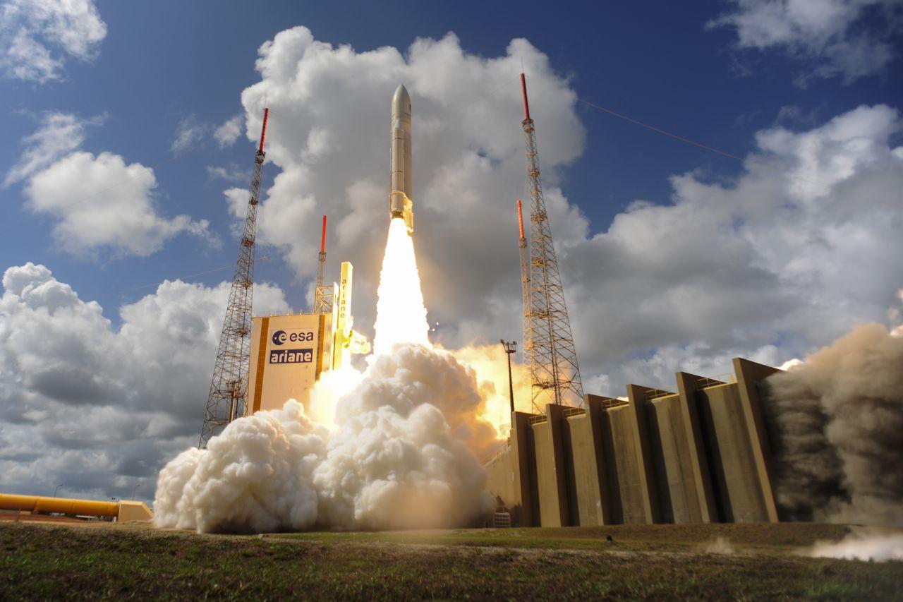 Ariane 5 beim Start