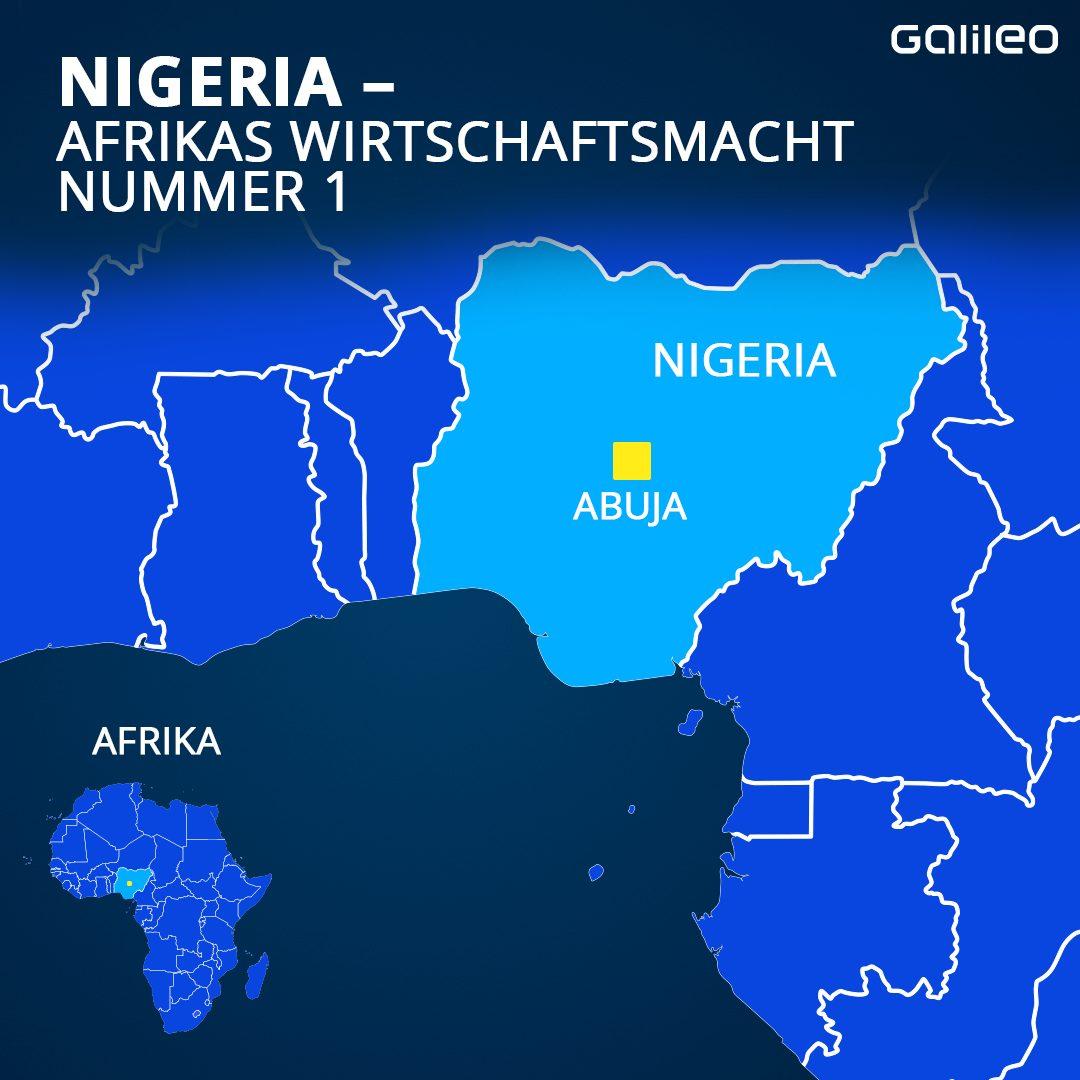 Nigeria und seine Hauptstadt Abuja