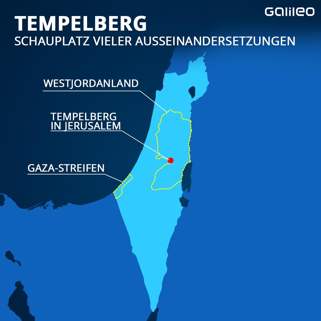 Tempelberg in Israel