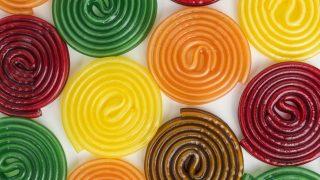Gummi-Schnecken
