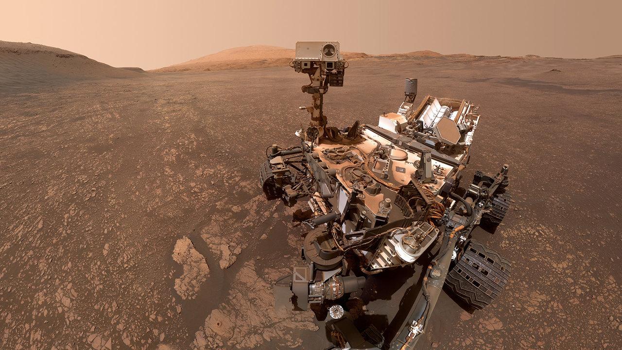 Mars-Rover Curiosity