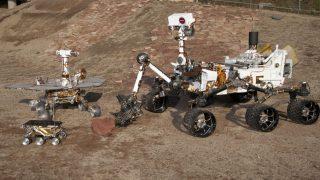Die NASA-Mars-Rover