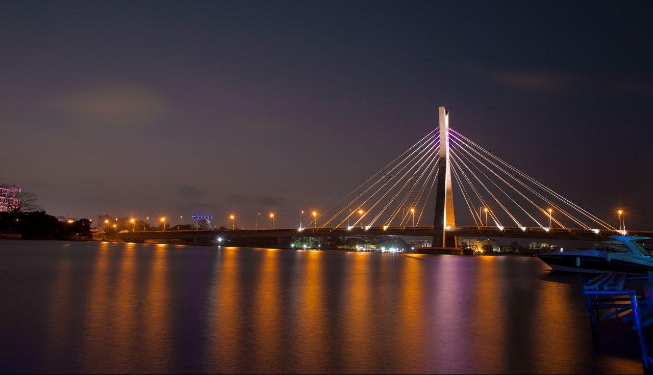 Nigeria- Lekki Ikoyi Brücke