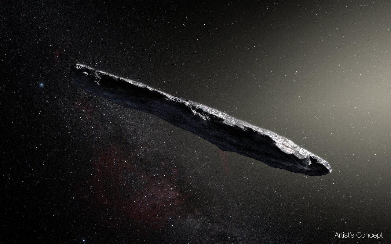Interstellares Objekt Oumuamua