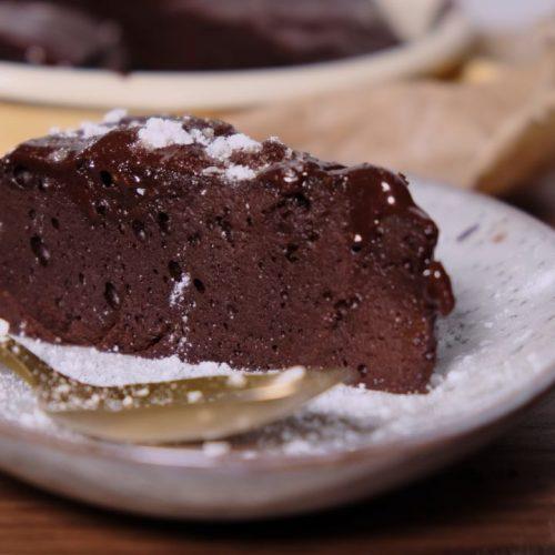 Schokoladigster Schokokuchen
