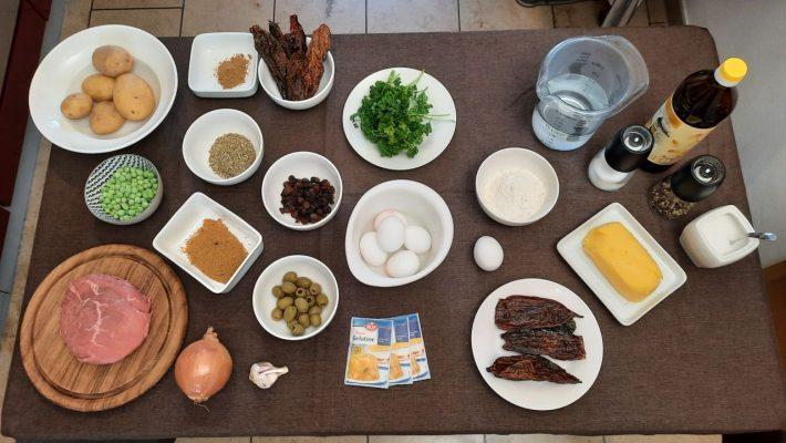 Zutaten für die Saltenas