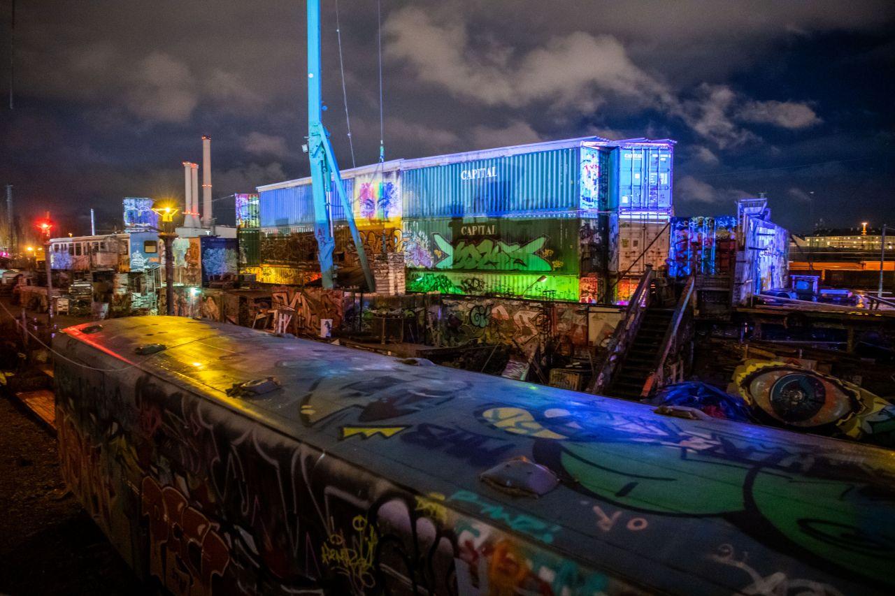 Kunst und Kultur in Containern