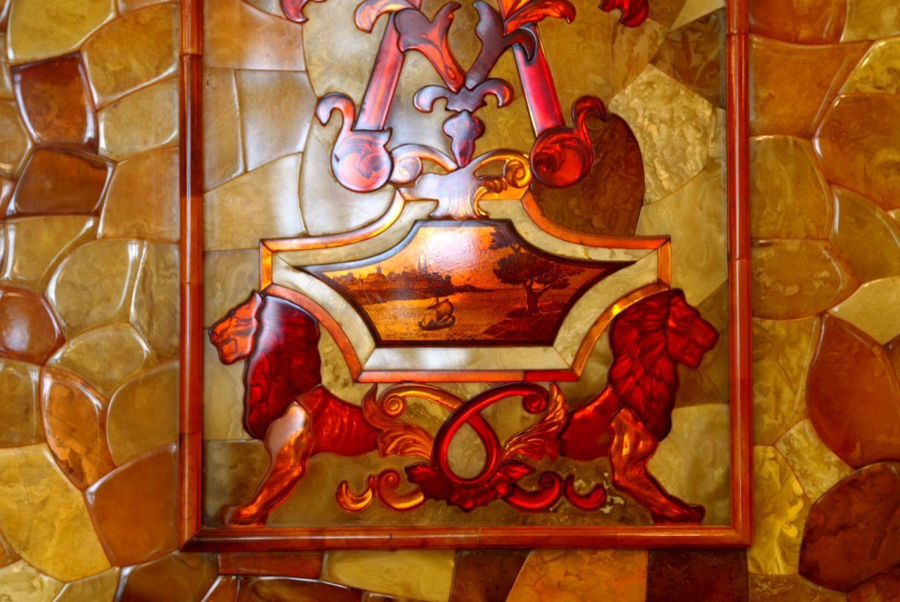 Bernsteinzimmer Ornament