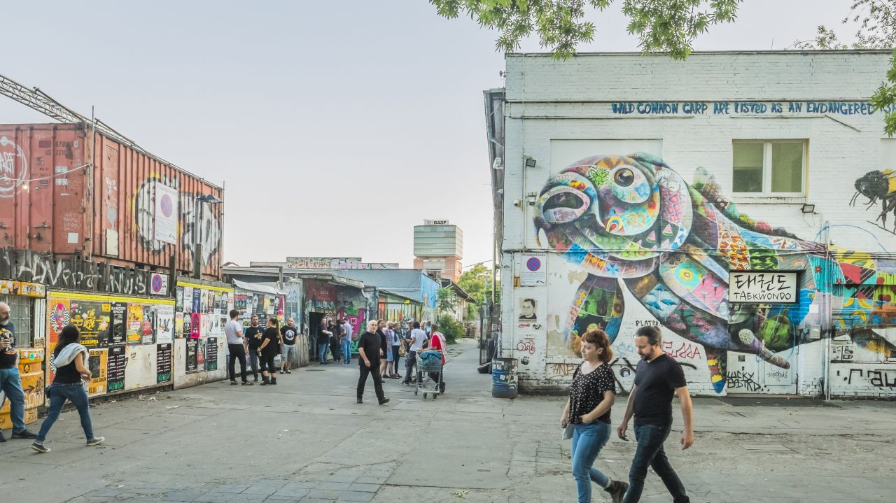 Container in Berlin