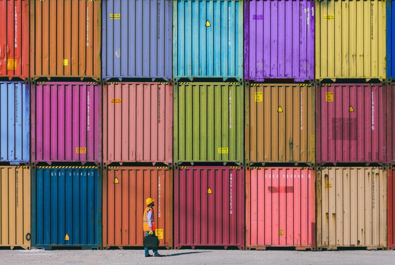 Rechteckig, praktisch, gut: Fracht-Container sind wahre Multitalente