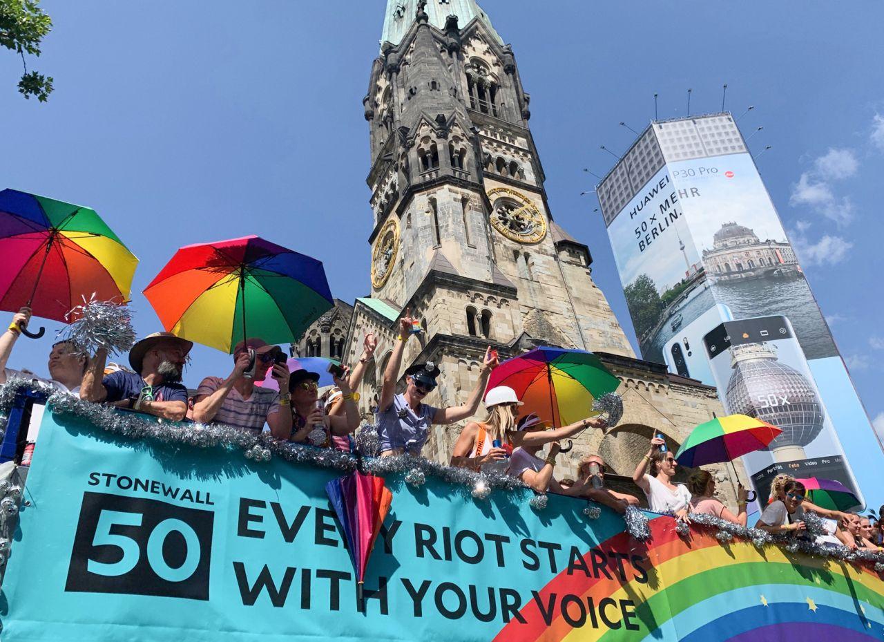 50 Jahre CSD in Berlin