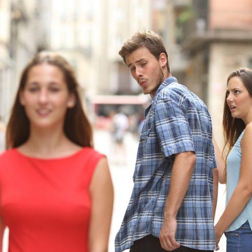 Distracted Boyfriend Bild Meme