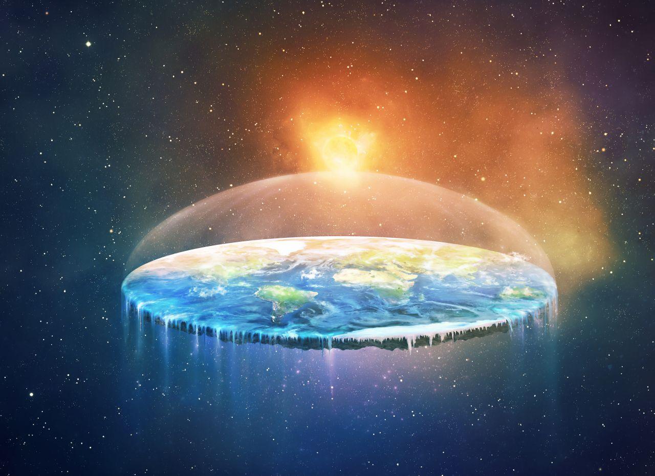 Verschwörungstheorie: Ist die Erde eine Scheibe?