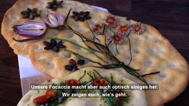 #gardenfocaccia: So wird dein Brot zum Kunstwerk