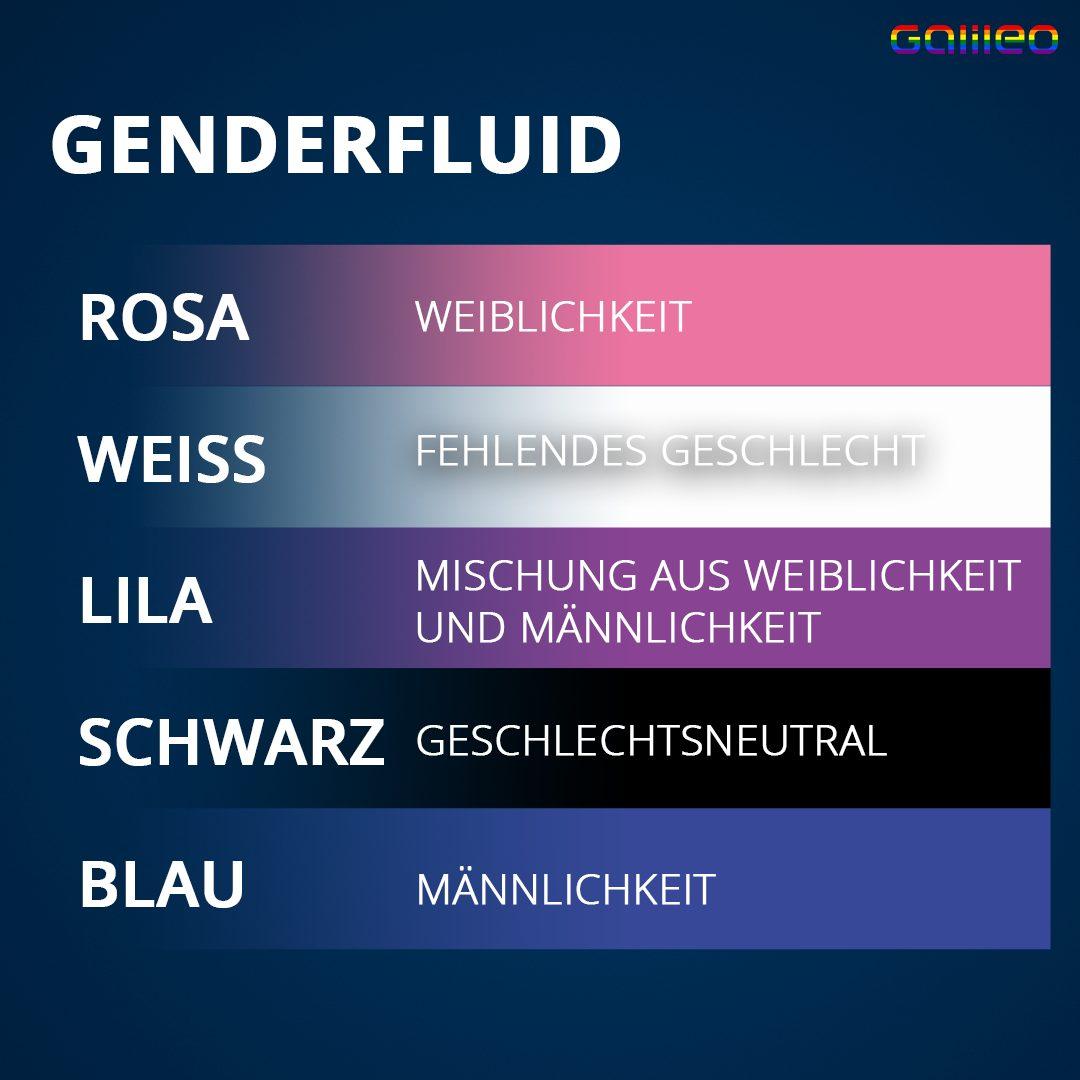 Genderfluid Flagge