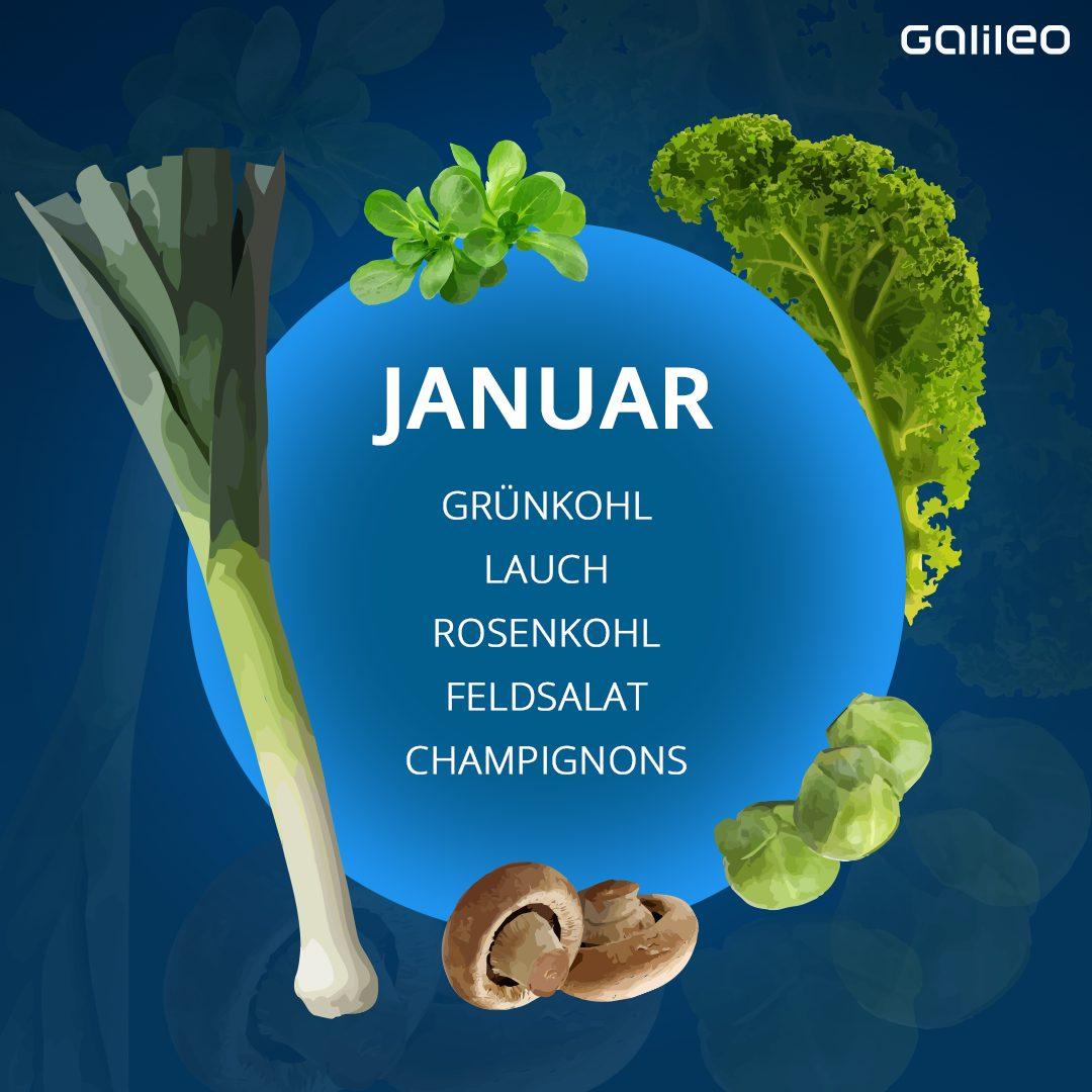 Saisonkalender Gemüse