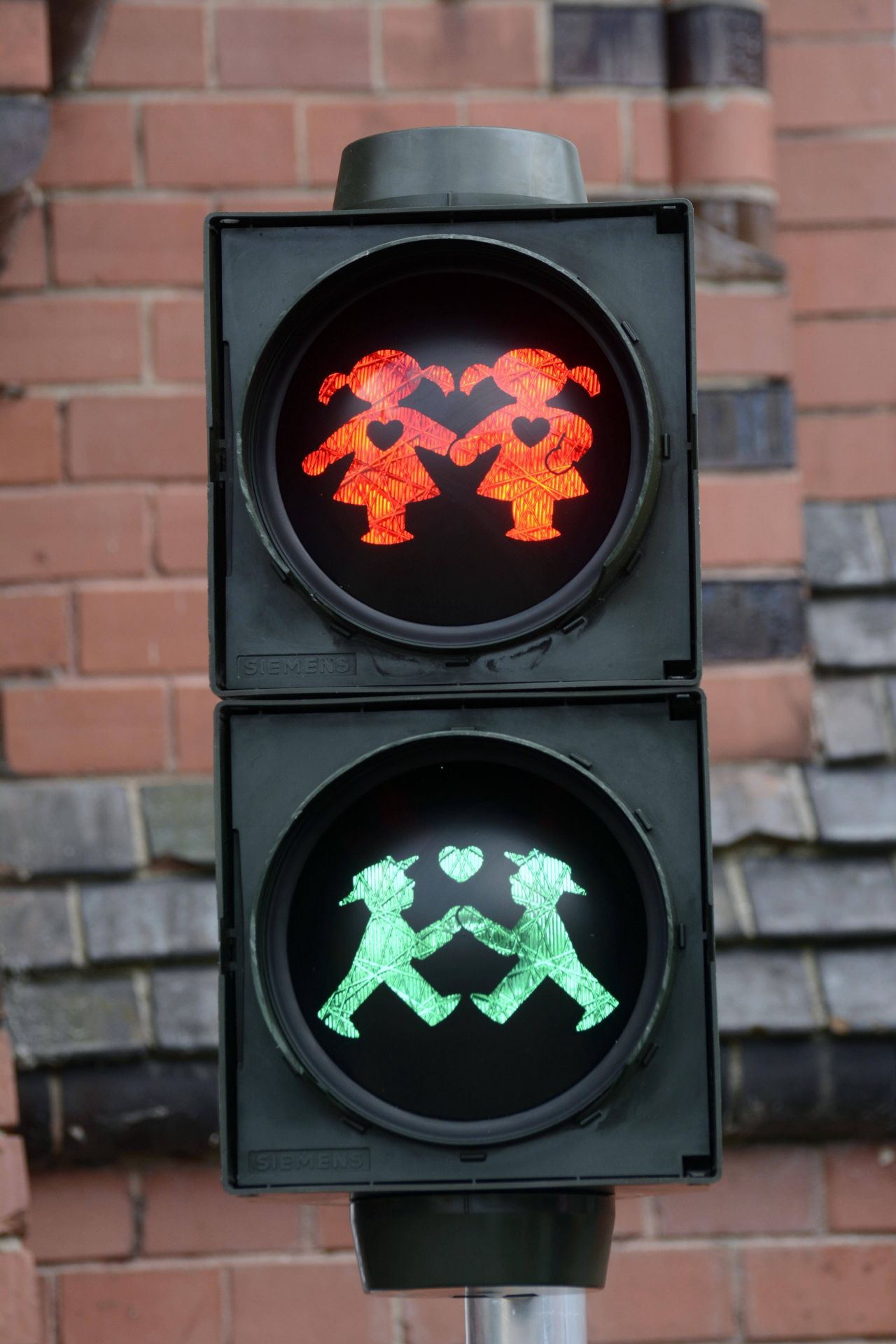 Homo-Ampel in Berlin