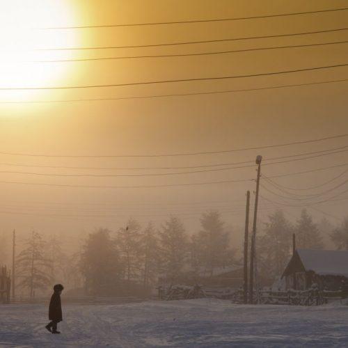 Kältester Ort der Welt: Oimjakon