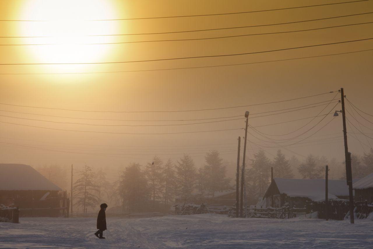Kältester Ort der Welt: In Oimjakon wird es minus 50 Grad